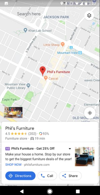 Google Maps II