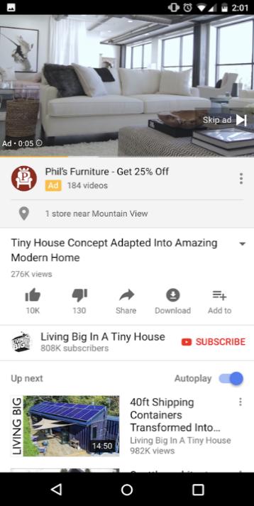anuncio local youtube